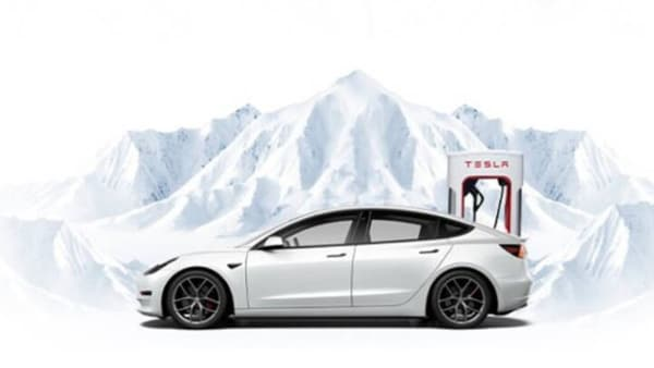 A new Tesla Supercharger station has been put into service in Tingri in Tibet near the base camp of Mount Everest.