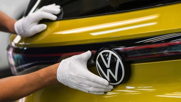 Volkswagen ID.4 sports utility vehicle (SUV). (File photo) (Bloomberg)