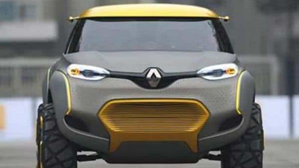 Renault Kwid is one of the most successful supermini model from the French car brand. The Kwid concept in picture.