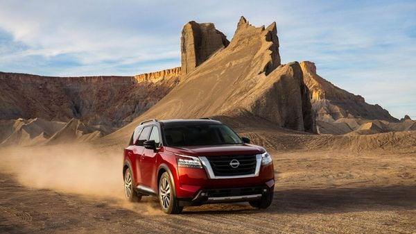 2022 Nissan Pathfinder SUV breaks cover globally.