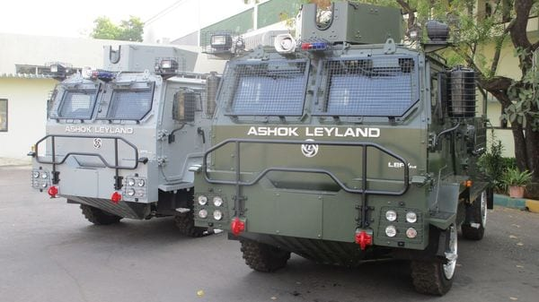 Ashok Leyland has suspended its commercial vehicle production for the time being, but will continue to deliver defence vehicles.