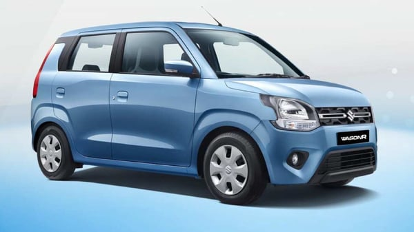 Maruti Suzuki WagonR was the bestselling CNG car in India in FY2021.