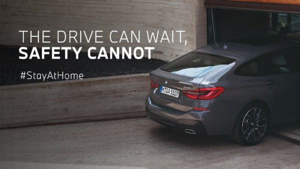 BMW India's social media campaign urging people to stay indoors as Covid-19 cases keep surging across the country.