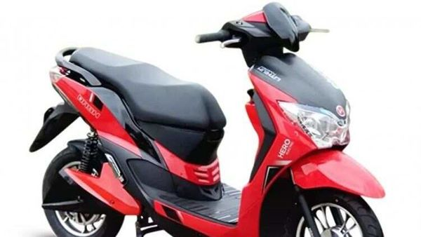 File photo of Hero Dash electric scooter