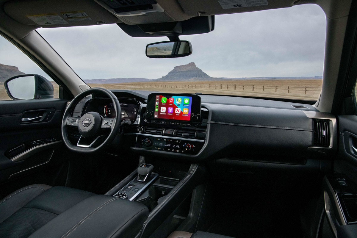 The interior features a 12.3-inch digital dashboard that provides the driver with a variety of easy-to-navigate screen options. Complementing the digital dashboard is an available 10.8-inch Head-up Display,