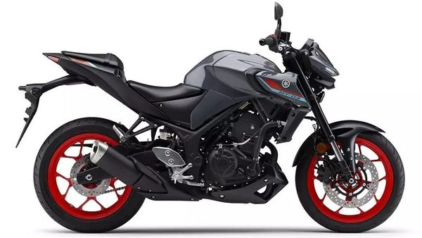 The new smaller displacement Yamaha MT range of bikes get mildly updated looks. Image: Yamaha MT-03