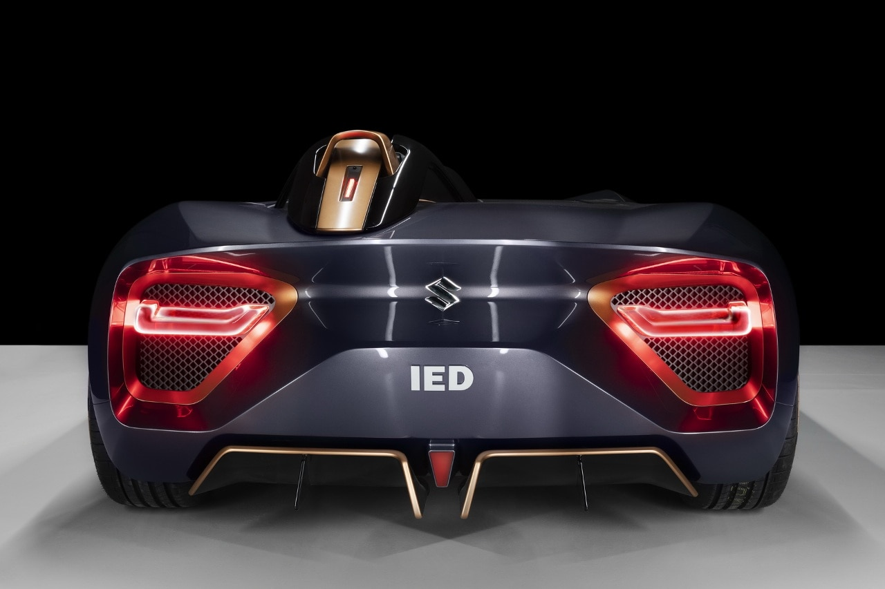 Moving to the rear, the car gets nicely positioned with horizontal LED taillights. The cockpit boasts sporty steering which doesn't get a conventional wheel shape. There is a control yoke in place of a steering wheel.
