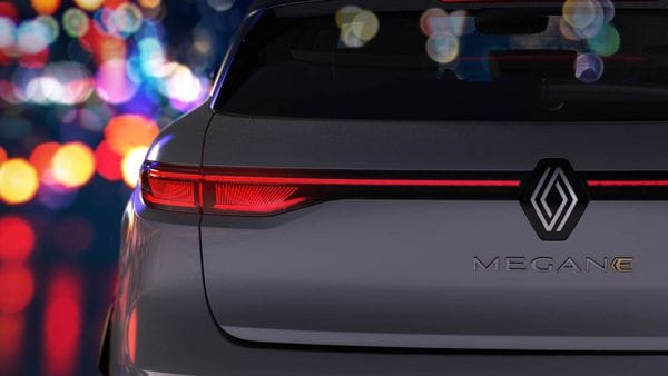 Renault has teased its upcoming Megane E-Tech compact electric car.