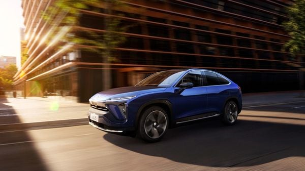 Chinese electric vehicle maker Nio launches its first overseas store in Norway on May 6.