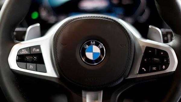The BMW logo. (Reuters)