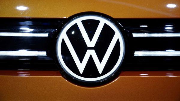A Volkswagen logo. (Reuters)