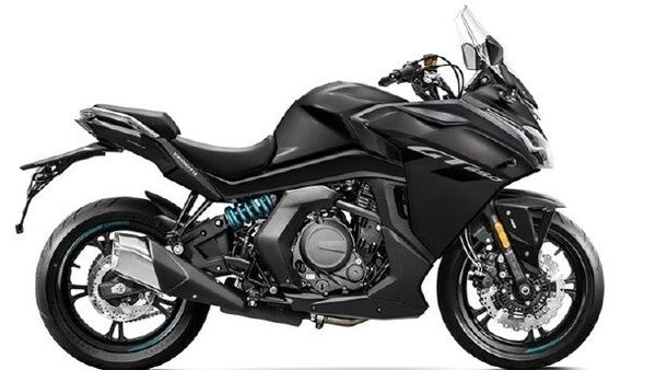 The teaser image hints that the 650GT BS 6 motorcycle may not go through any notable exterior tweaks.