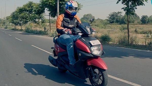 File photo of Yamaha Ray ZR.