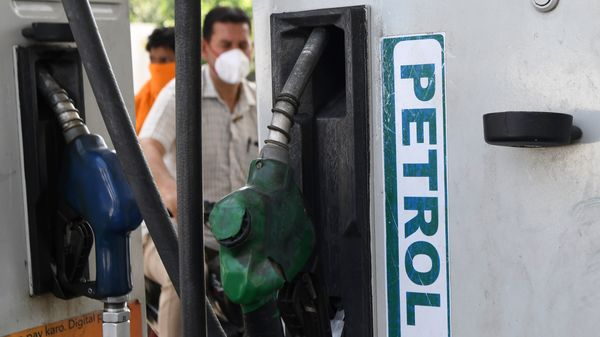 With the seven hikes in May 2021 alone, the per litre petrol price in India has been increased by ₹1.65. (AFP)