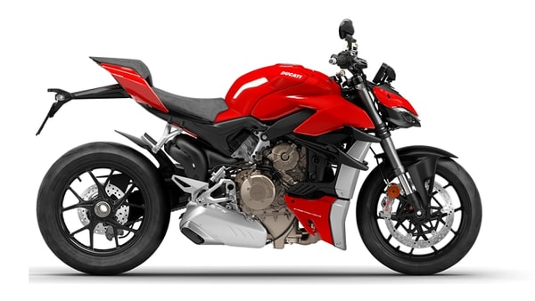 Ducati Streetfighter V4 is a rival to the Kawasaki ZH2 hypernaked bike.