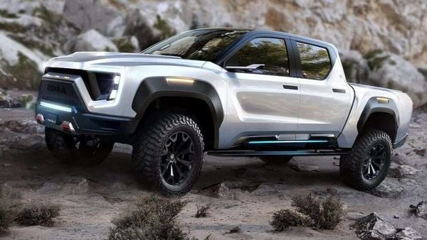 Nikola claims Badger has a range of 600 miles, compared with Cybertruck's range of more than 500 miles. (Photo courtesy: nikolamotor,com)