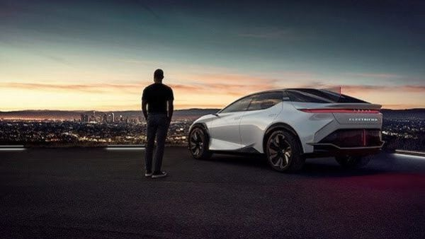 LF-Z Electrified from Lexus that was recently showcased in its concept form.