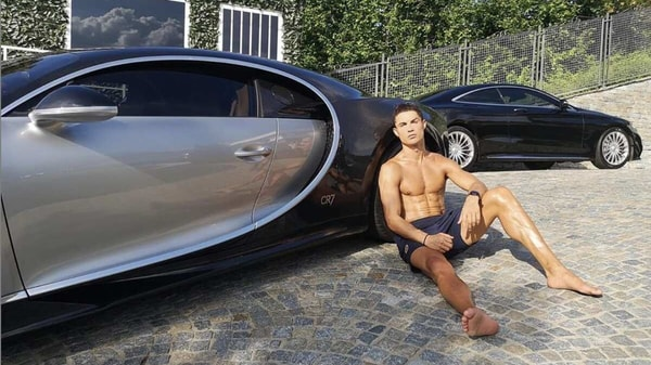 Christiano Ronaldo has more than 19 exotic luxury cars in his collection. (Photo courtesy: Instagram/@cristiano)