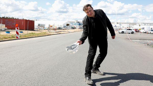 File photo of Tesla CEO Elon Musk in Berlin. (REUTERS)