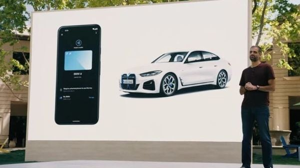 The digital car key can also be shared with a friend when required. Image Courtesy: Google/Screengrab