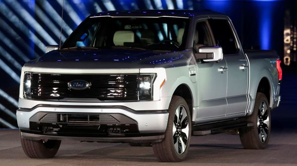 Ford and SK Innovation's EV battery joint venture announcement is coming immediately after the launch of Ford's latest electric vehicle F-150 Lightning pickup truck (REUTERS)