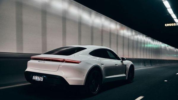 File photo of Porsche Taycan 4S.