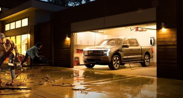 Imagine a vehicle powering an entire home? Ford F-150 Lightning, as its name suggests, can do just that.