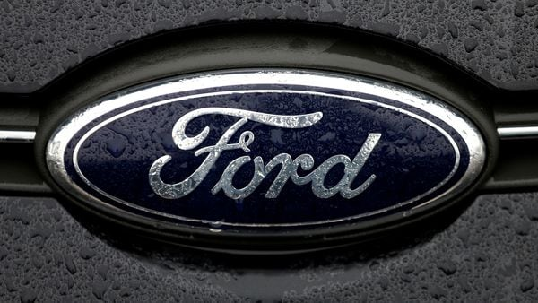 The logo of Ford. (File photo) (Reuters)