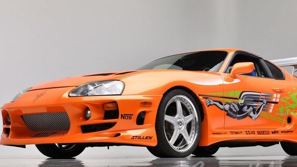 Toyota Supra from Fast & Furious (Image credit - Barrett-Jackson)