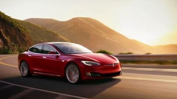 This photo provided by Tesla shows the 2021 Tesla Model S, a premium electric sedan with an estimated range of 412 miles. (AP)