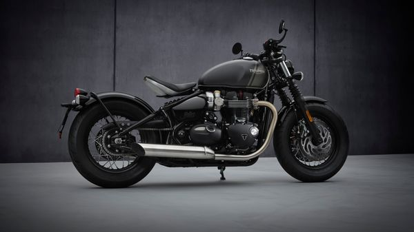 Representational image of the 2021 Bobber which is offered with a range of 77 genuine Triumph accessories.