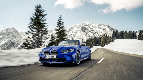 BMW has unveiled the 2022 M4 Competition Convertible with xDrive.