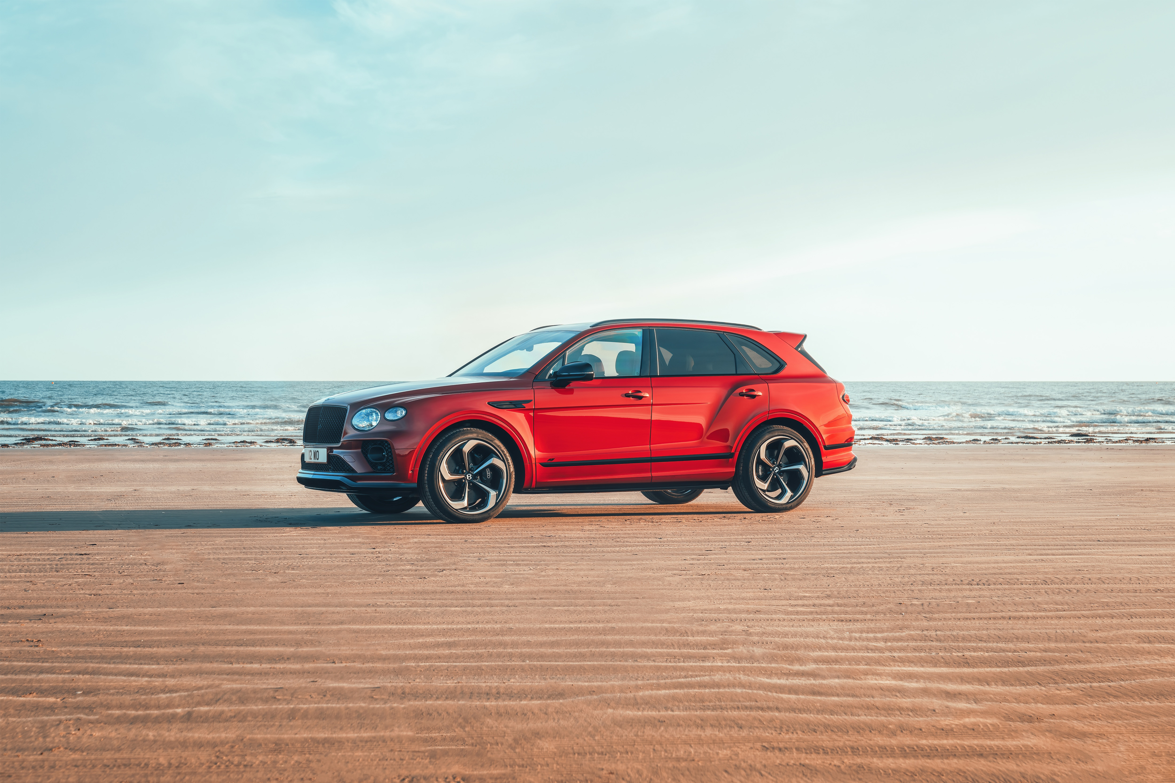 There are miled tweaks to the exterior design as well but these do contribute to enhancing the appeal of the SUV. The chrome garnish on the Bentayga S has been mostly replaced with gloss black accents.