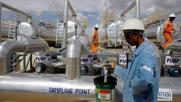 OPEC+ is bringing back 2.1 million barrels per day (bpd) of oil production through July, easing cuts to 5.8 million bpd. (REUTERS)