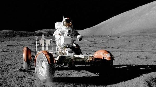Moon rovers have inspired the global automobile industry to invent new technologies in past. (File photo for representational purpose)