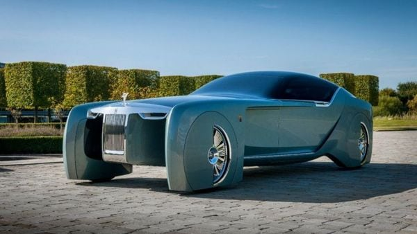 Rolls-Royce confirmed it's working on an all-new vehicle called Silent Shadow as the iconic British brand prepares to offer a fully electric car to its ultra-wealthy clientele this decade. (File photo of Vision Next concept car)