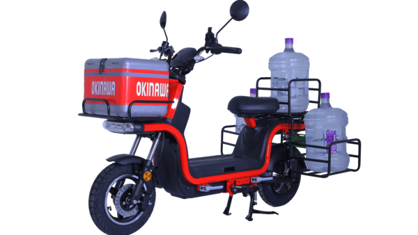 Representational image of Okinawa Dual scooter. It has a full charge range of 130 km.