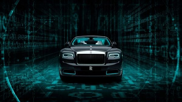 Representational Image: Wraith Kryptos Collection from Rolls Royce.