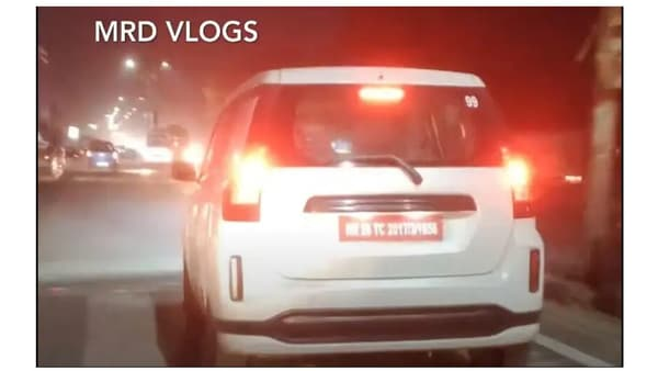 The Toyota badged Maruti WagonR is likely to go on sale in India towards the festive season 2021, though nothing is officially confirmed yet. Screenshot courtesy: Youtube/MRDVlogs