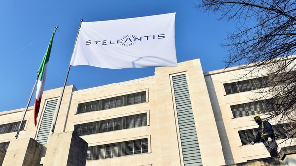Stellantis was formed from the merger of Italian-American Fiat Chrysler and France's PSA. (File photo)