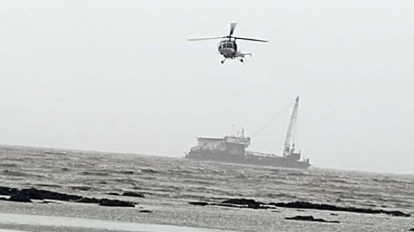 The Indian Coast Guard said a