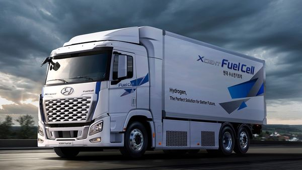 Updated Hyundai XCIENT fuel-cell truck