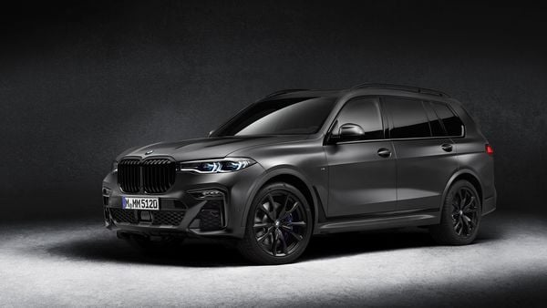 The 2021 BMW X7 M50d Dark Shadow Edition launched in India at <span class='webrupee'>₹</span>2.02 crore.