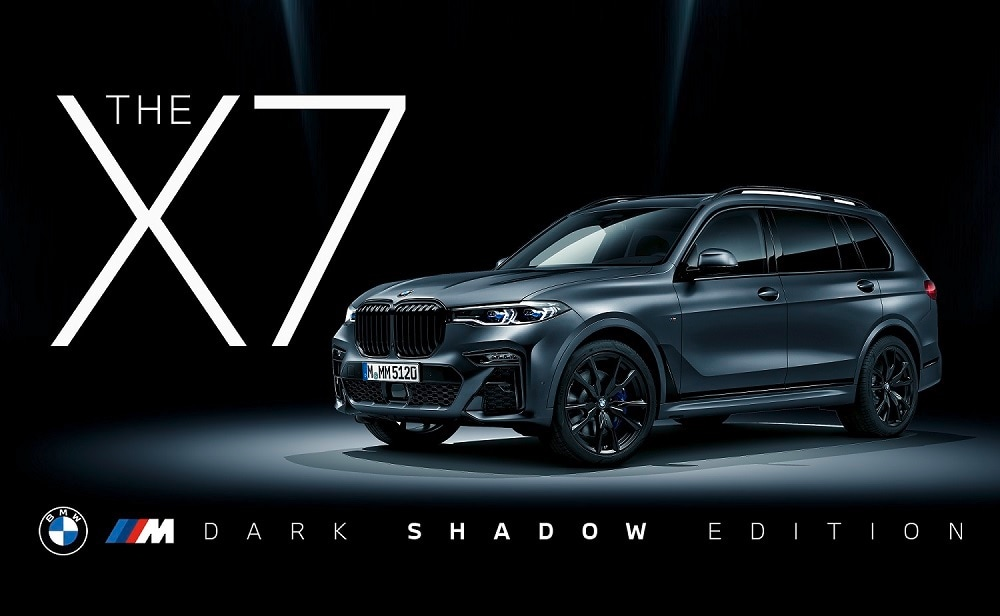 BMW Group India has officially launched X7 M50d Dark Shadow edition in the country at <span class='webrupee'>₹</span>2.02 crore (ex showroom). Just 500 units of the SUV have been made available worldwide, making it not just look menacing but also be quite an exclusive offering.