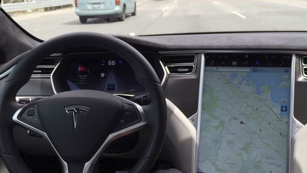 The interior of a Tesla Model S (File photo used for representational purpose only) (REUTERS)