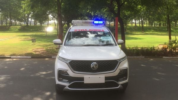 MG Hector ambulance has been deployed to assist medical professionals in the midst of battle against Covid-19.