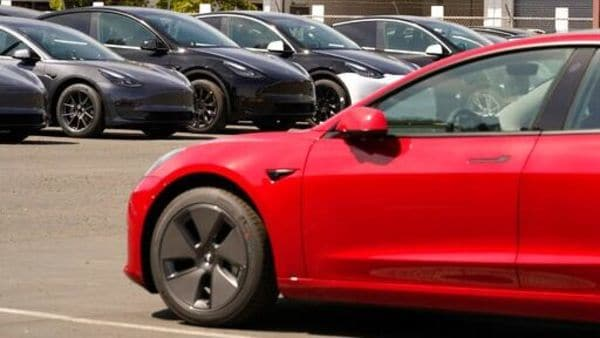 The price of Tesla vehicles is increasing due to supply chain pressures across the auto industry, particularly for raw materials, Elon Musk said. (AP)
