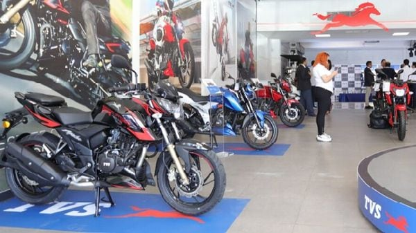 TVS sold 125,188 units of motorcycles in May 2021 as compared to 26,772 units in May 2020.