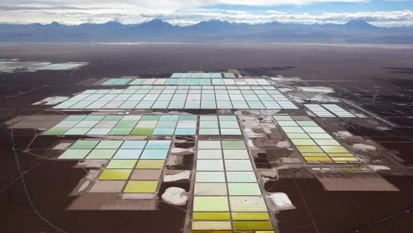 Mexico, a major copper and silver producer, is home to large potential reserves of lithium, used in electric vehicle (EV) batteries.