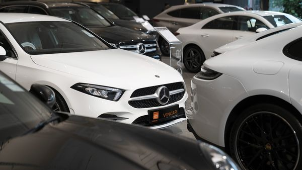 File photo of Mercedes-Benz car at a dealership. (Image has been used for representational purpose) (Bloomberg)